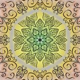 mandala vektor illustrationer