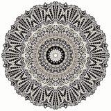 Mandala Mehndi styl Obraz Stock