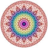 Mandala Mehndi styl Zdjęcie Royalty Free