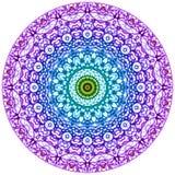 Mandala Mehndi styl Zdjęcie Stock