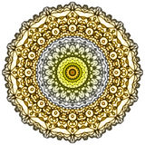 Mandala Mehndi Style illustration libre de droits