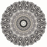 Mandala Mehndi Style. Ethnic seamless pattern in oriental indian style. Mehndi henna design for textile Stock Image