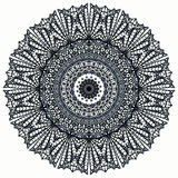 Mandala Mehndi Style. Ethnic seamless pattern in oriental indian style. Mehndi henna design for textile Stock Photo