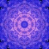 Mandala mit handgemachter Beschaffenheit der Kunst Lizenzfreies Stockfoto