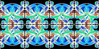 mandala Modèle décoratif de dentelle Photo libre de droits