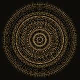 Mandala. Modèle décoratif indien. Photos libres de droits