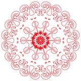 mandala Modèle oriental Dynamique et énergie illustration libre de droits