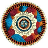 Mandala. Modèle rond d'ornement. Photos libres de droits