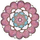 mandala Modèle rond d'ornement images stock