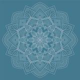 mandala Modèle rond d'ornement de vintage Islamique, arabe, indien Photo stock