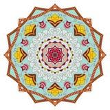 mandala Modèle rond d'ornement de vintage Islamique, arabe, indien Photographie stock