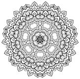 Mandala modelada Imagens de Stock Royalty Free