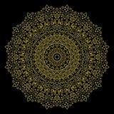 mandala Modello rotondo dell'ornamento Fotografie Stock