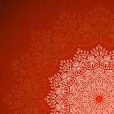 mandala Modello rotondo dell'ornamento Fotografia Stock Libera da Diritti