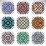 mandala Modelo redondo del ornamento Fotografía de archivo
