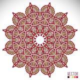 mandala Modelo redondo del ornamento Fotografía de archivo libre de regalías