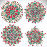 mandala Modelo redondo del ornamento Foto de archivo