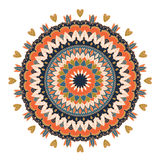 mandala Modelo redondo del ornamento Fotos de archivo