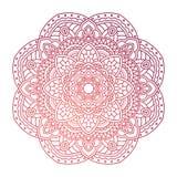 mandala Modelo redondo ornamental Foto de archivo