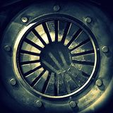 Mandala Monochrome Abstract Lizenzfreies Stockfoto