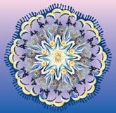 Mandala Moon Lizenzfreies Stockbild