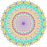 mandala Motivo floral Bonito incomun Fotografia de Stock Royalty Free