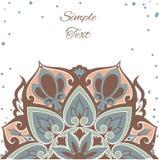 mandala Multi-colorida com às bolinhas Imagem de Stock