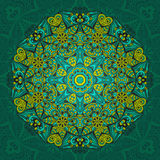 Mandala multi de couleur Illustration Libre de Droits
