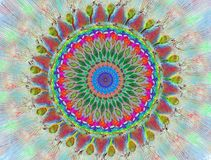 Mandala Multicolor 1. Illustration of Mandala Multicolor 1 vector illustration