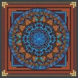 Mandala-Muster Stockfotografie