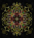 Mandala Noname Quadro Photos stock