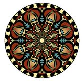 Mandala in nostalgic colors for the acquisition of calm and equanimity.  Royalty Free Stock Photography