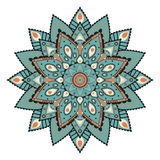 Mandala o modelo simétrico circular Imagen de archivo