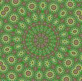 Mandala. o teste padrão decorativo é fundo Fotos de Stock Royalty Free