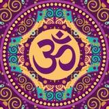 Mandala ohm Stock Image