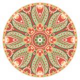 Mandala okrąg Zdjęcia Royalty Free