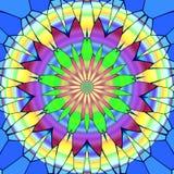 Mandala okrąg Zdjęcia Stock
