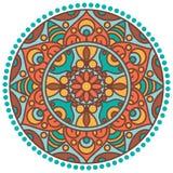 Mandala okrąg Zdjęcie Royalty Free