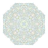 Mandala om het Patroon van het Ornament Stock Afbeeldingen