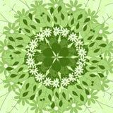 Mandala om ornament, stammen Arabisch etnisch Indisch motief, cirkel symmetrisch abstract bloemen geometrisch patroon Royalty-vrije Stock Afbeelding