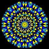 Mandala om patroon Etnische oostelijke stijl Royalty-vrije Stock Fotografie