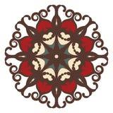 Mandala op achtergrond Royalty-vrije Stock Fotografie