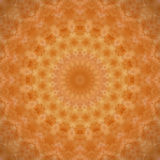 Mandala orange-foncé Photos libres de droits