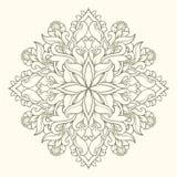 Mandala oriental Imagem de Stock Royalty Free