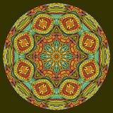 Mandala In Oriental Style vector illustratie