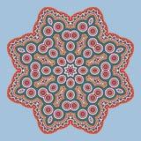 Mandala In Oriental Style Vector Fotos de archivo