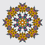 Mandala in Oriental style. Vector illustration Stock Photo