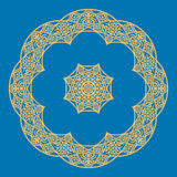Mandala in Oriental style. Vector illustration Stock Photos