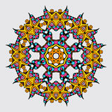 Mandala in Oriental style. Vector illustration Royalty Free Stock Photography