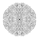 Mandala ornament, abstract pattern for your design Royalty Free Stock Photos